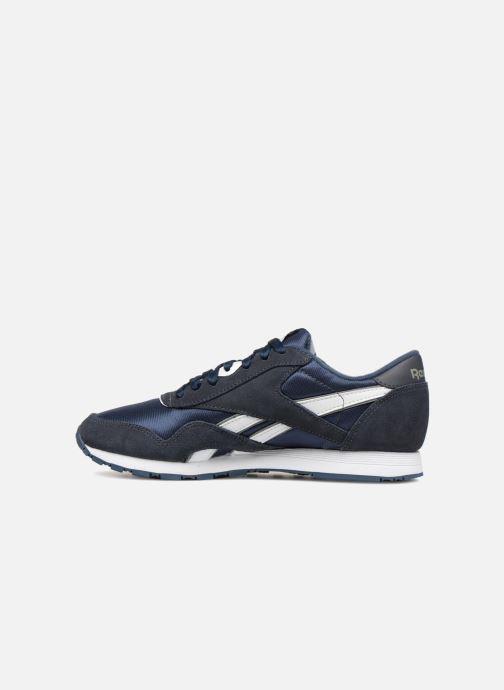 Sneakers Reebok Classic Nylon W Blauw voorkant