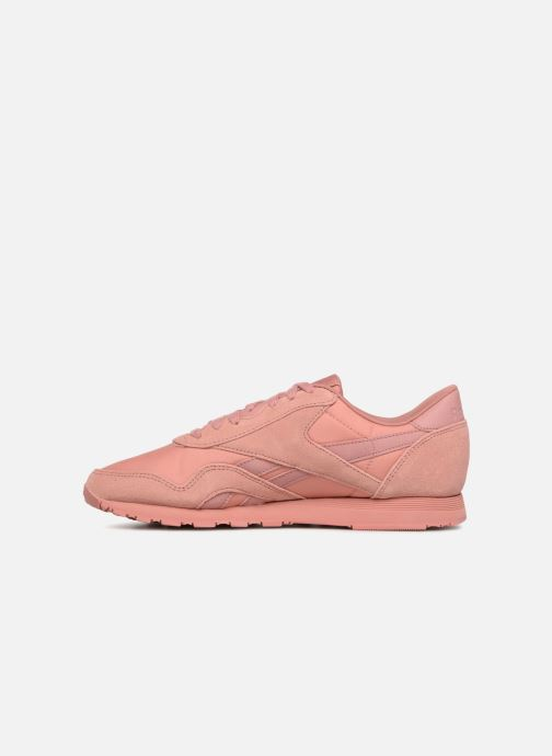 Trainers Reebok Classic Nylon W Pink front view