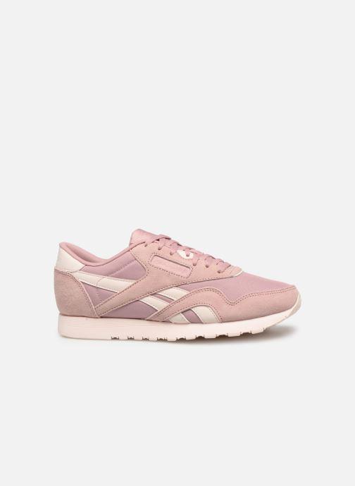 Sneaker Reebok Classic Nylon W rosa ansicht von hinten