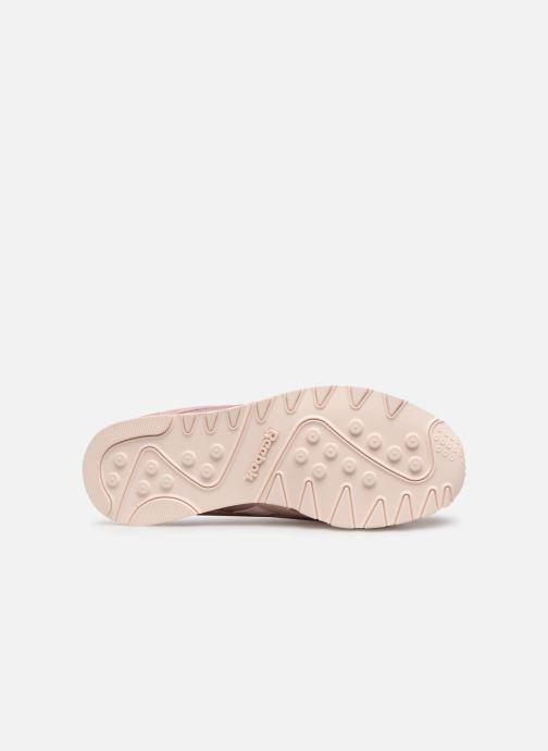 Sneaker Reebok Classic Nylon W rosa ansicht von oben