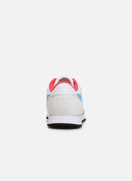 Sneaker Reebok Classic Nylon W weiß ansicht von rechts