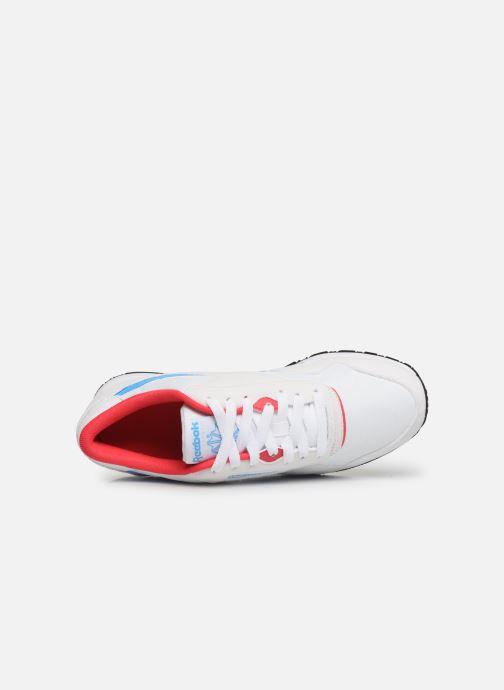 Baskets Reebok Classic Nylon W Blanc vue gauche