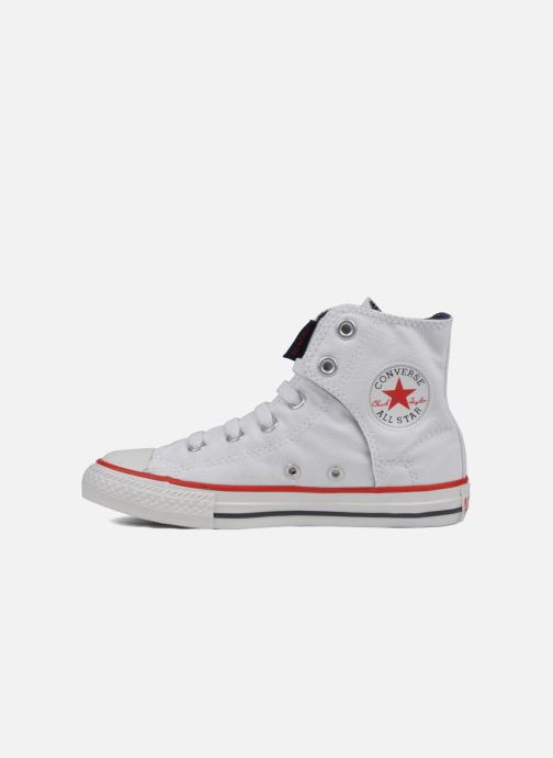 Trainers Converse Chuck taylor all star easy slip hi K White front view