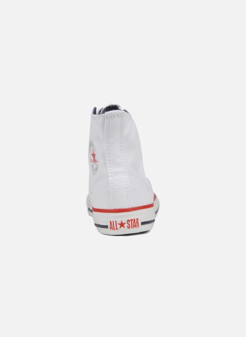 Trainers Converse Chuck taylor all star easy slip hi K White view from the right