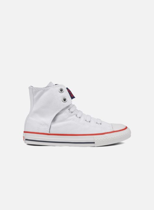 Trainers Converse Chuck taylor all star easy slip hi K White back view