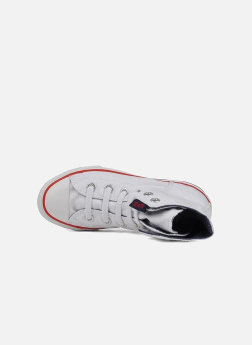 Sneakers Converse Chuck taylor all star easy slip hi K Bianco immagine sinistra