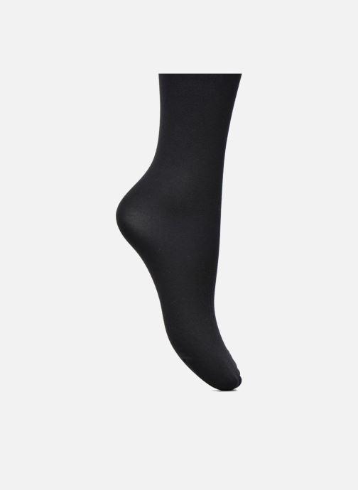 Socken & Strumpfhosen Falke Strumpfhose mit Baumwoll-Effekt schwarz ansicht von hinten