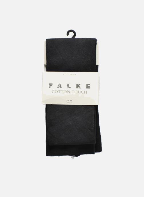 Sokken en panty's Falke Panty cotton touch Zwart detail