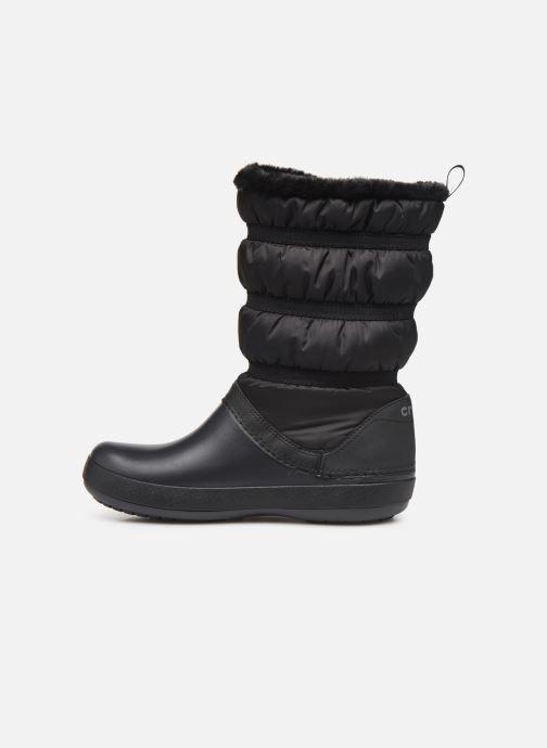 Stivaletti e tronchetti Crocs Crocband Winter Boot W Nero immagine frontale