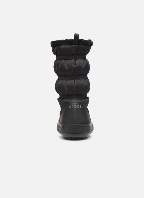 Stivaletti e tronchetti Crocs Crocband Winter Boot W Nero immagine destra