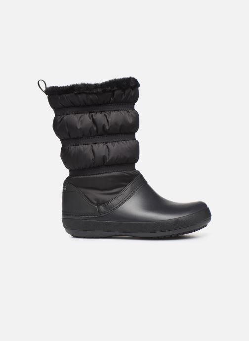 Stivaletti e tronchetti Crocs Crocband Winter Boot W Nero immagine posteriore