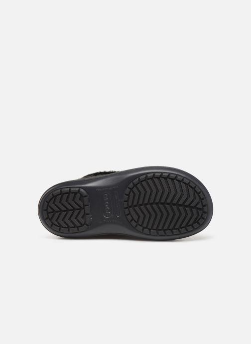 Stivaletti e tronchetti Crocs Crocband Winter Boot W Nero immagine dall'alto