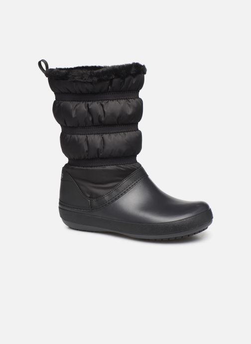 Bottines et boots Crocs Crocband Winter Boot W Noir vue détail/paire