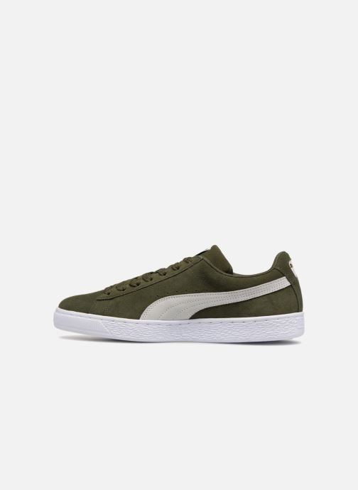 Sneakers Puma Suede Classic Groen voorkant