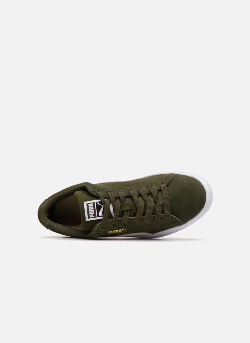 Sneakers Puma Suede Classic Grøn se fra venstre