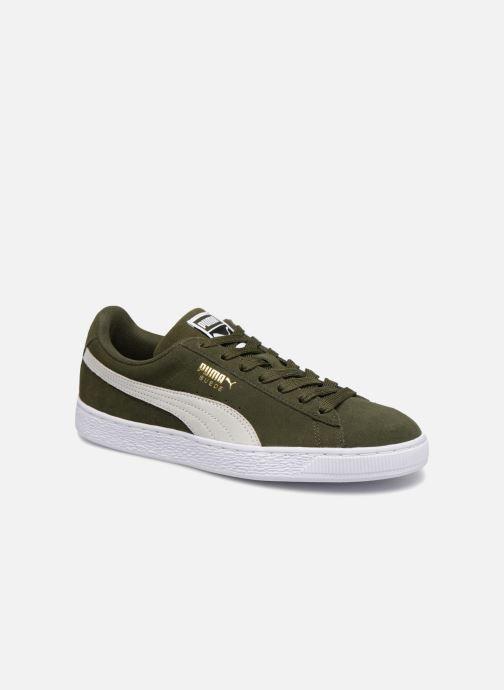 Sneakers Puma Suede Classic Grøn detaljeret billede af skoene