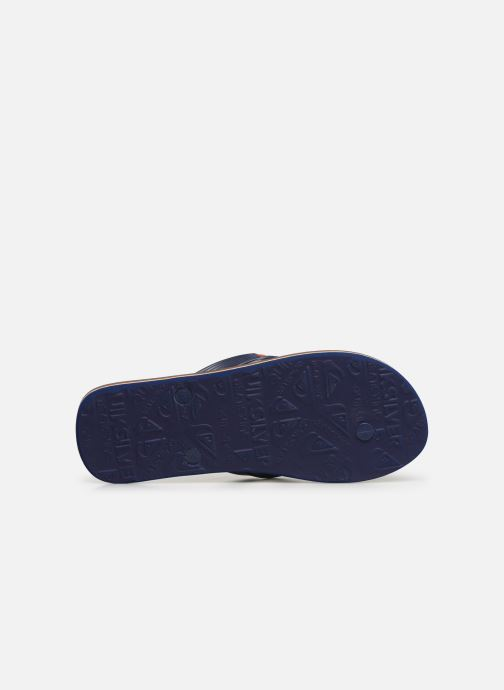 Flip flops Quiksilver Molokai nitro Blue view from above