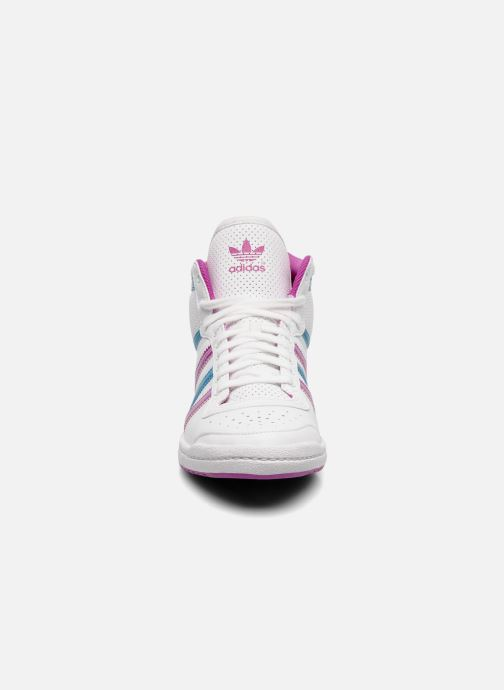 Trainers adidas originals Top ten hi sleek w White model view