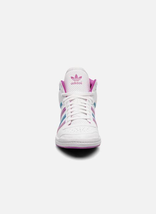 new product de276 b6411 Baskets adidas originals Top ten hi sleek w Blanc vue portées chaussures