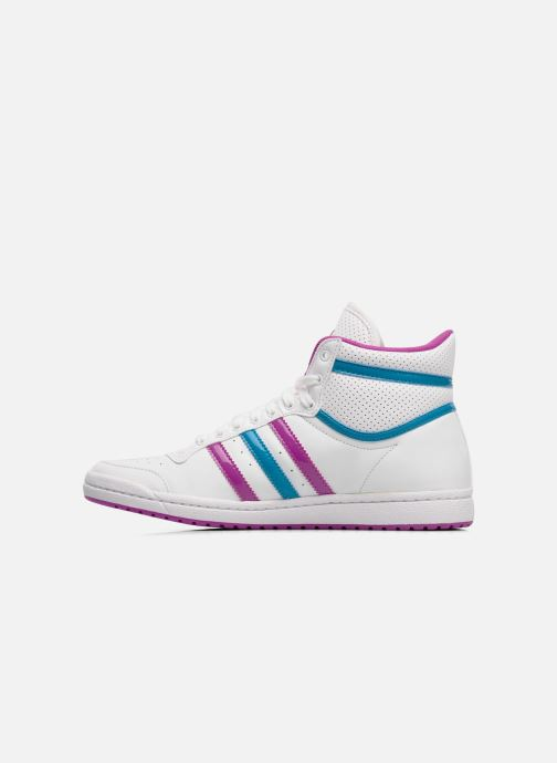 Trainers adidas originals Top ten hi sleek w White front view