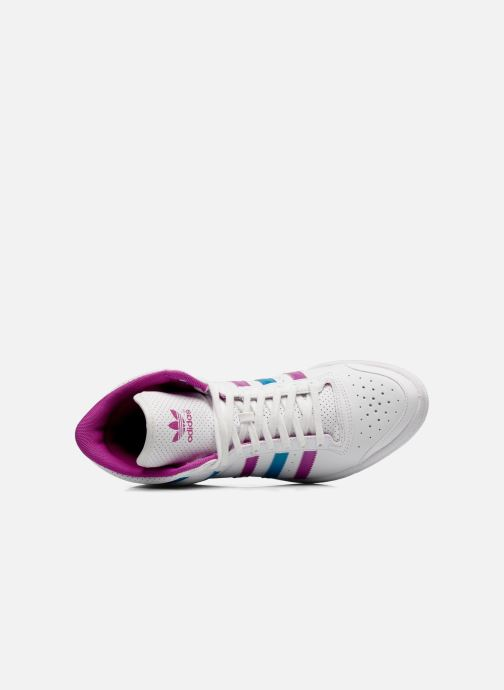 Trainers adidas originals Top ten hi sleek w White view from the left
