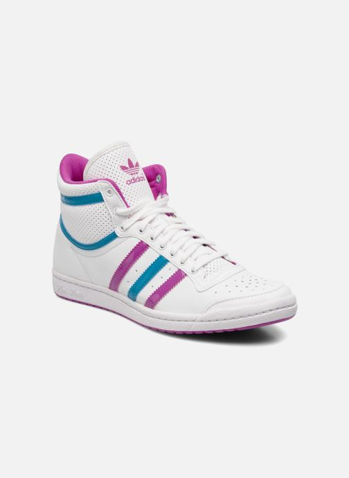 Trainers adidas originals Top ten hi sleek w White detailed view/ Pair view