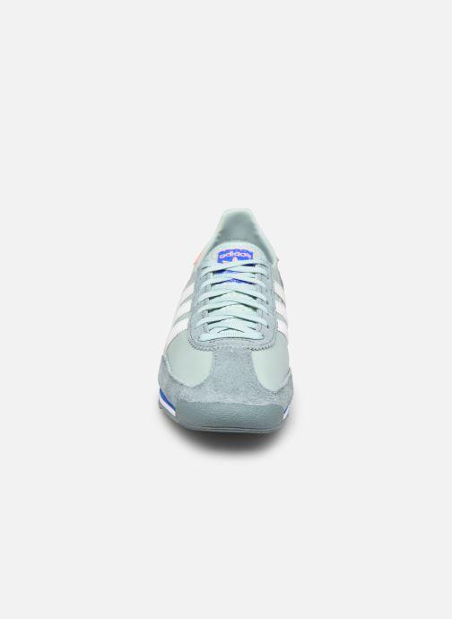 Sneaker adidas originals Sl 72 W grün schuhe getragen