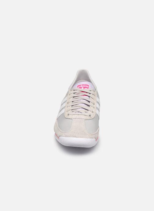 Sneaker adidas originals Sl 72 W grau schuhe getragen
