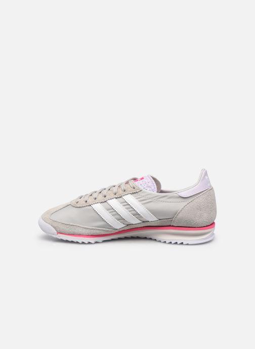 Sneaker adidas originals Sl 72 W grau ansicht von vorne