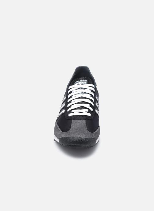 Sneaker adidas originals Sl 72 W schwarz schuhe getragen