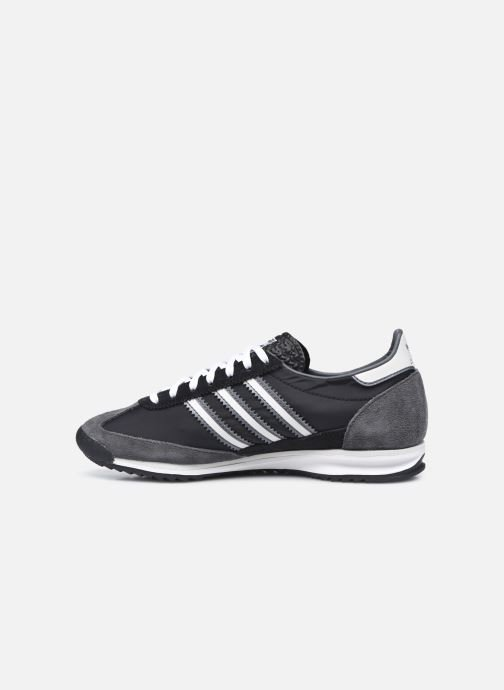 Baskets adidas originals Sl 72 W Noir vue face