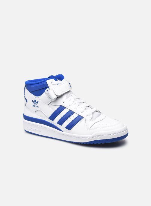 Sneakers adidas originals Forum mid Hvid detaljeret billede af skoene