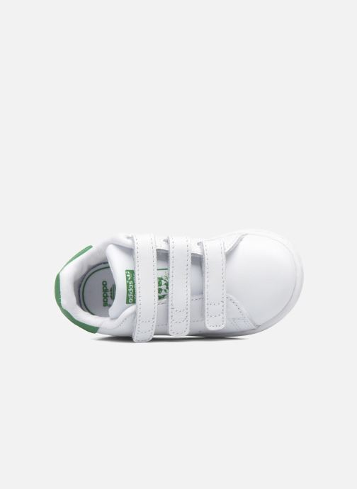 Sneaker adidas originals Stan smith cf I weiß ansicht von links