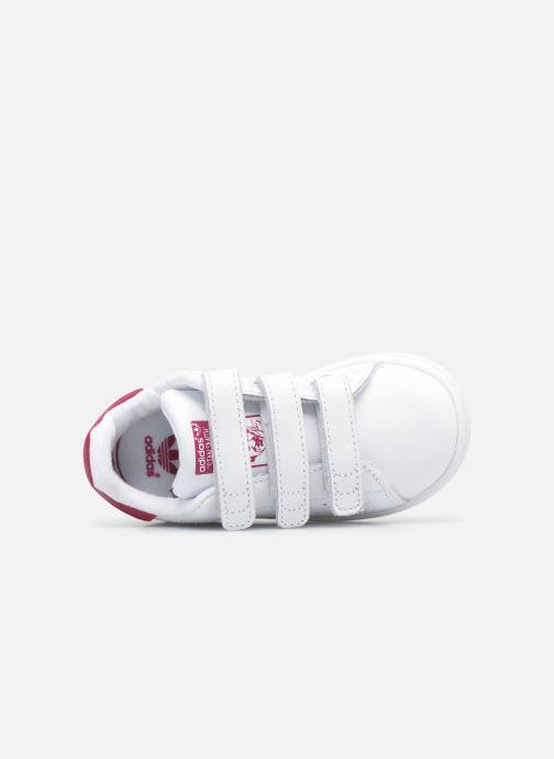 Sneakers adidas originals Stan smith cf I Bianco immagine sinistra