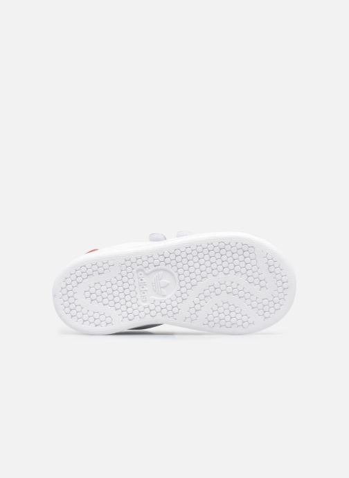 Sneakers adidas originals Stan smith cf I Bianco immagine dall'alto