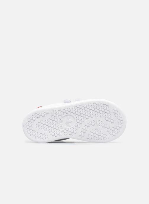 Baskets adidas originals Stan smith cf I Blanc vue haut