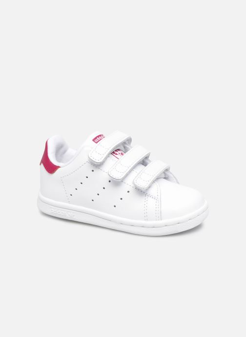 Baskets adidas originals Stan smith cf I Blanc vue détail/paire