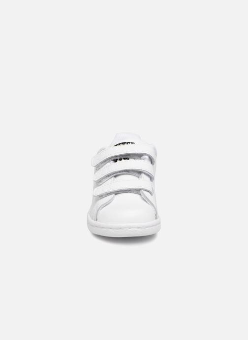 Baskets adidas originals Stan smith cf I Blanc vue portées chaussures