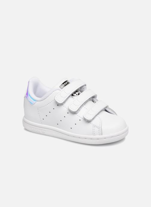 Deportivas adidas originals Stan smith cf I Blanco vista de detalle / par