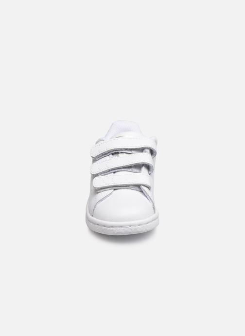Sneaker adidas originals Stan smith cf I weiß schuhe getragen