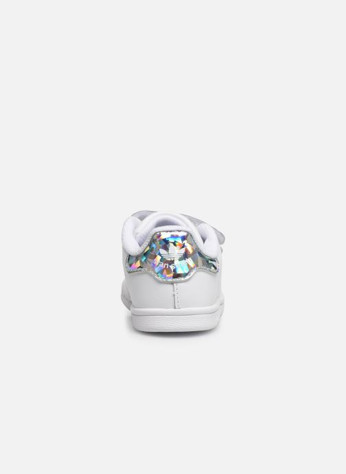Baskets adidas originals Stan smith cf I Blanc vue droite