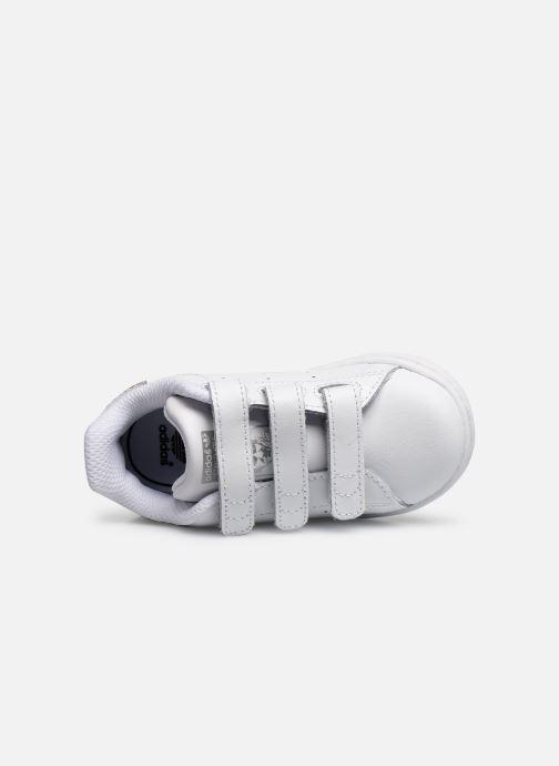 Sneaker adidas originals Stan smith cf I weiß ansicht von links