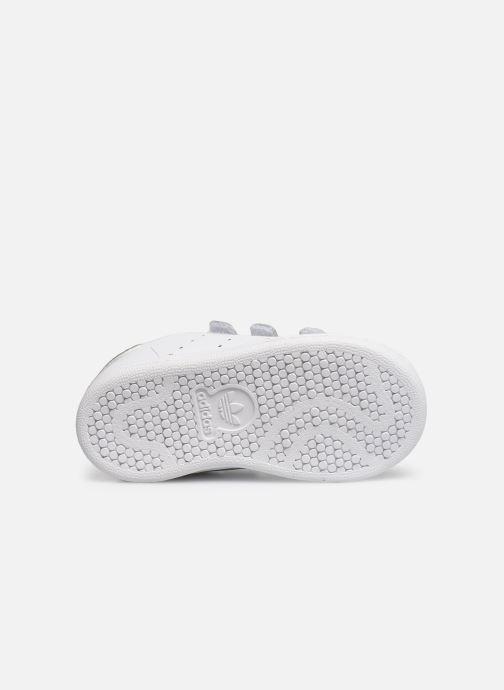 Sneaker adidas originals Stan smith cf I weiß ansicht von oben
