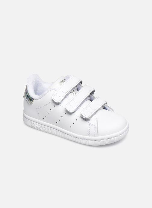 Deportivas adidas originals Stan smith cf I Blanco vista de detalle / par