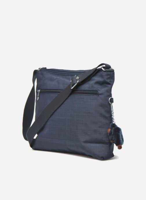 Handtaschen kipling Alvar blau ansicht von rechts
