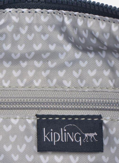 Handtassen kipling Alvar Blauw achterkant