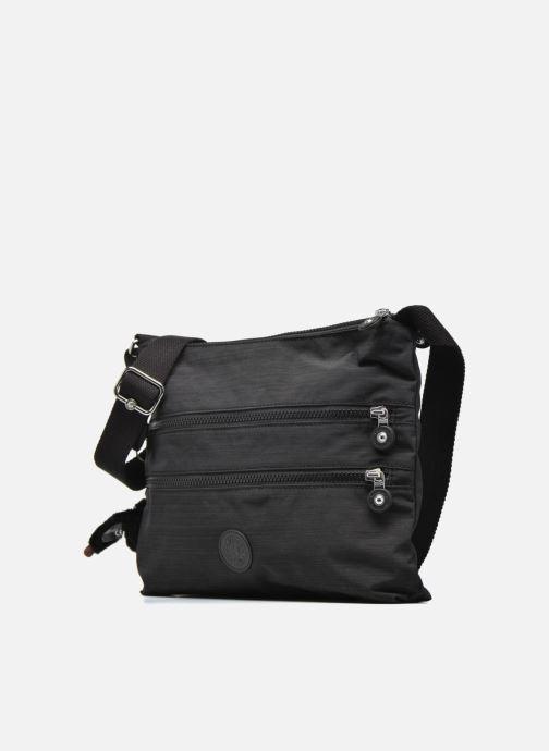 Handtaschen Kipling Alvar schwarz schuhe getragen