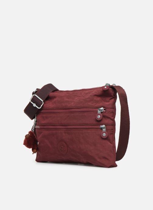 Handtaschen Kipling Alvar weinrot schuhe getragen