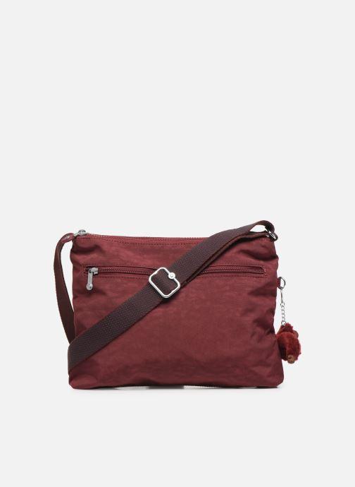 Handtaschen kipling Alvar weinrot ansicht von vorne