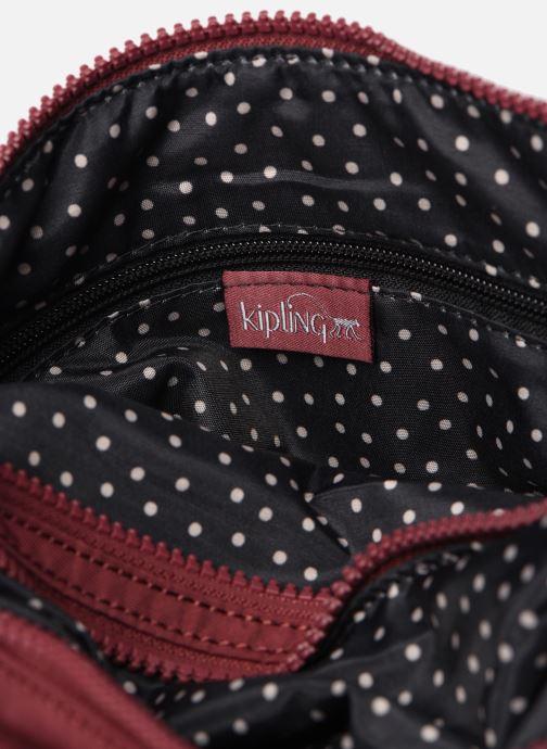 Handtaschen Kipling Alvar weinrot ansicht von hinten